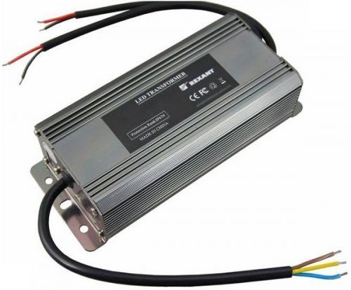 Источник питания Rexant 201-072-2 тонкий 220V AC/24V DC, 3А, 72W с проводами, влагозащищенный (IP67)