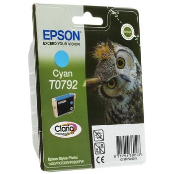 Картридж Epson C13T07924010 голубой повышенной емкости для P50/PX660/PX820/PX830