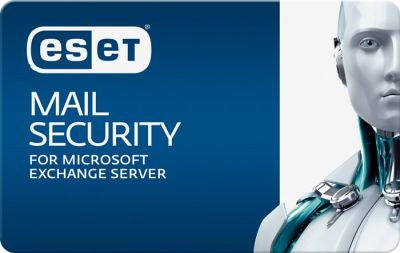 Eset Mail Security для Microsoft Exchange Server for 180 mailboxes, 1 мес.