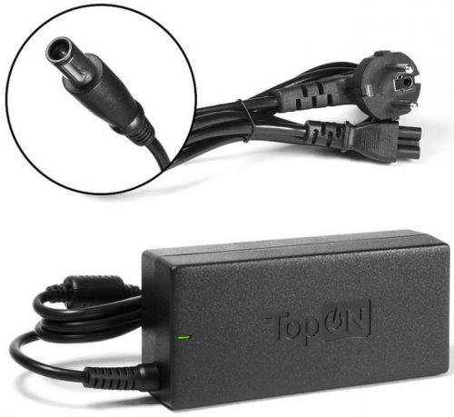Блок питания для ноутбука HP TopOn TOP-HP20 моделей Pavilion DV3, DV4, DV5, DV6, G6, G7, Compaq CQ70, ProBook 450 19V 4.74A (7.4x5.0mm) 90W. PN: P