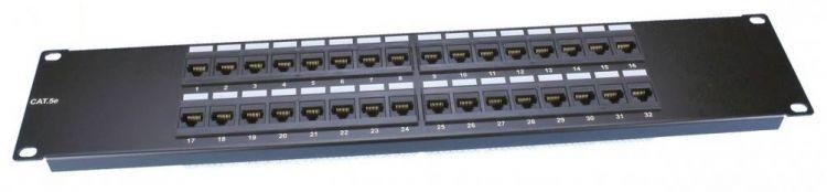 Hyperline PP3-19-32-8P8C-C5E-110D