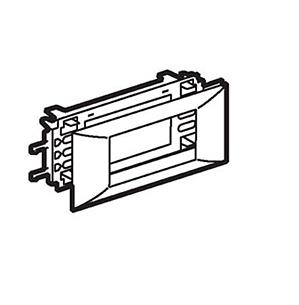 Фото - Суппорт Mosaic на 4 модуля Legrand 10954 для короба DLP, с рамкой 65 мм. суппорт legrand 653178 для монтажа механизмов эуи 2 3 модуля