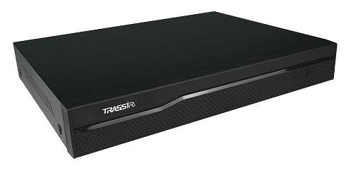 Видеорегистратор TRASSIR XVR-5216 всего 18 каналов: 16 аналоговых камер + 2 IP-камеры/ 12 аналоговых камер + 6 IP-камер