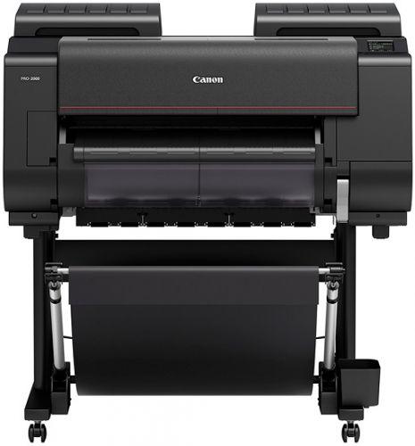 "Принтер Canon imagePROGRAF PRO-2000 1124C003 24"", A1, 12 цветов, USB 2.0, Ethernet, Wi-Fi, без стенда"