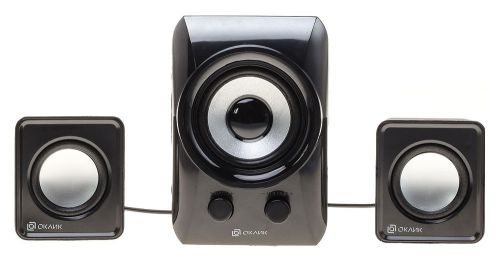 Портативная акустика Oklick OK-420 HS-35 BLACK 2.1 черный 11Вт