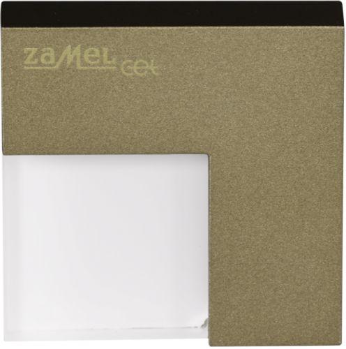Светильник Zamel 06-111-42 TIMO Золото/Тепл.бел. на стену, без рамки 14V DC