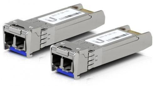 qdsuh 10g Модуль SFP+ Ubiquiti UF-SM-10G U Fiber, Single-Mode Module, 10G, комплект 2шт