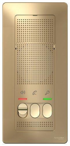 Переговорное устройство Schneider Electric BLNDA000014 Blanca (Домофон), 4,5В Титан