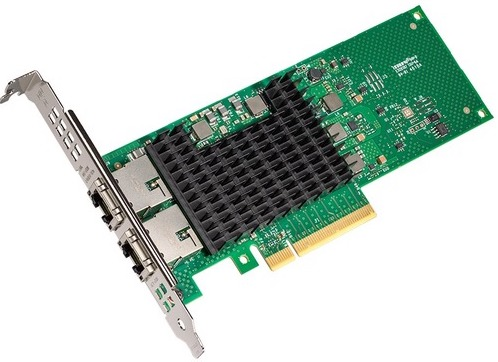 Сетевая карта Intel X710T2LBLK 2x10Gbs RJ45 ports сетевая карта gembird nic gx1