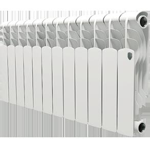 Радиатор отопления алюминиевый Royal Thermo Revolution 350 - 12 секций радиатор секционный алюминиевый royal thermo revolution 350 8 секций