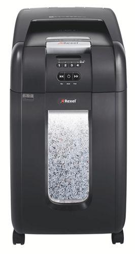 Уничтожитель бумаг Rexel Auto+ 300M 2104300EU секр.P-5, фрагменты/300л/40лтр., скрепки/скобы/плкарты/CD