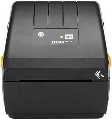 Термопринтер Zebra ZD220 Standard EZPL, 203 dpi, EU/UK Power Cord, USB, Dispenser (Peeler)