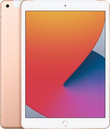 Фото - Планшет 10.2 Apple iPad Wi-Fi + Cellular 128GB (2020) MYMN2RU/A gold планшет apple ipad 10 2 2020 wi fi 32gb mylc2ru a gold