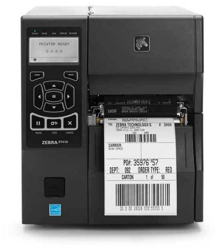 Принтер термотрансферный Zebra ZT410 (ZT41046-T0E0000Z) 600dpi, Ethernet, BT2.1