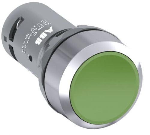 Кнопка ABB 1SFA619100R3012 зеленая без фикс. 1НО CP1-30G-10