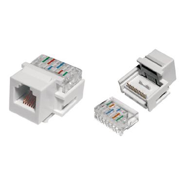 Hyperline KJ1-6P6C-C2-90-WH