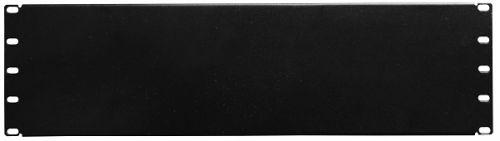 Фальшпанель NT FPANEL 4U B 111486 чёрная, заглушка 4U