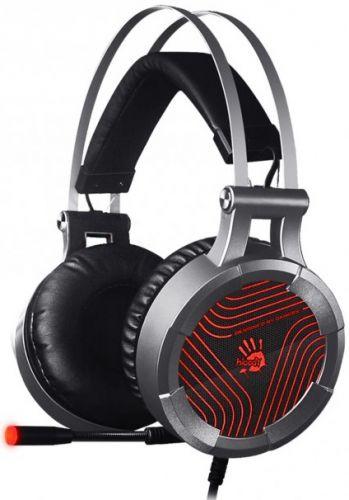 Гарнитура A4Tech Bloody G530 черный/серый, 1.8м, мониторы, оголовье