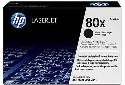 Картридж HP 80X CF280X для принтеров HP LJ Pro 400 M401/Pro 400 MFP M425, черный 6900 стр