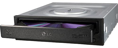 Привод DVD-ROM LG DH18NS61 Internal ODD SATA 5x /18x/ 48x Black Bulk