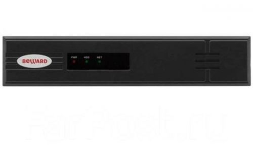 Видеорегистратор Beward BK0104H2-P4 до 4 IP-каналов со звуком, 4xPoE, до 40 Мбит/с, 3072x2048 (6 Мп), до 120 к/с, Н.264, экспорт в AVI, ONVIF, доступ