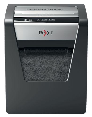 Уничтожитель бумаг Rexel Momentum X415 2104576EU секр. P-4, 4х40мм, 15л/23лтр, скрепки/скобы