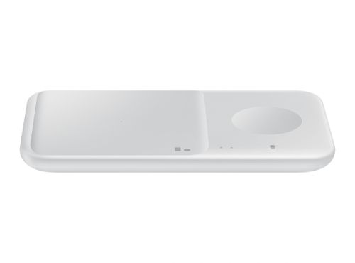 Фото - Зарядное устройство беспроводное Samsung EP-P4300TWRGRU EP-P4300, белое беспроводное зарядное устройство samsung ep p1100 usb c 1a черный ep p1100bbrgru