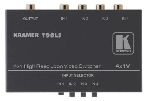Коммутатор Kramer 4x1V 90-041199 4х1 композитного видео сигналов, 0.28кг