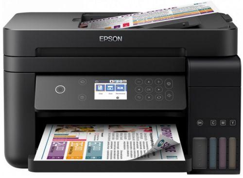 Фото - МФУ Epson L6170 C11CG20404 принтер/сканер/копир А4; СНПЧ принтер epson c6500ae c31ch77102 colorworks
