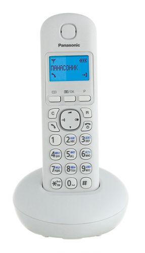 Телефон DECT Panasonic KX-TGB210RUW белый