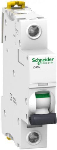 Фото - Автоматический выключатель Schneider Electric A9F89106 Acti 9 iC60H 1P 6A (C) автоматический выключатель schneider electric easy 9 1p c 4 5ka 20 а
