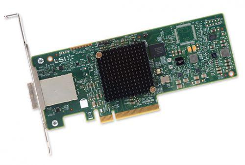 LSI - Контроллер SAS LSI 9300-8e SGL (LSI00343)