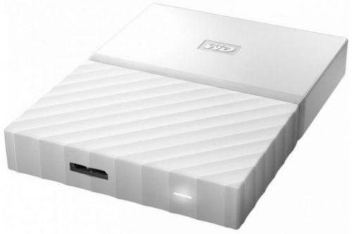 Western Digital Внешний жесткий диск 2.5'' Western Digital WDBLHR0020BWT-EEUE 2TB My Passport Slim белый, USB 3.0