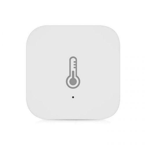 Датчик Xiaomi Aqara Smart home WSDCGQ11LM темперауры и влажности, для Mi Smart Home, CR2032, пластик, белый датчик xiaomi aqara temperature humidity sensor wsdcgq11lm