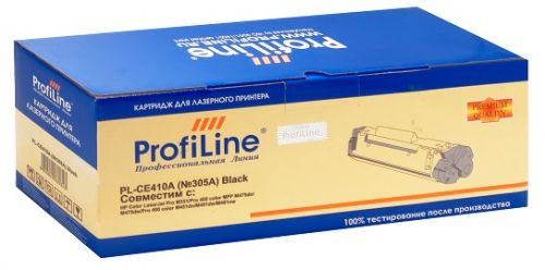 Картридж ProfiLine PL-CE410A (№305A) для принтеров HP Color LaserJet Pro M351/Pro 400 color MFP M475dn/M475dw/Pro 400 color M451dn/M451dw/M451nw Blac