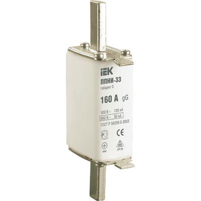 Вставка IEK DPP20-100 предохранителя плавкая ППНИ-33 100А габарит 0