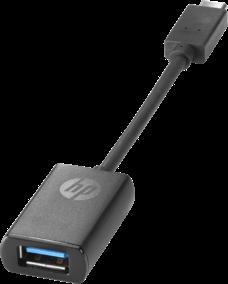 Адаптер HP N2Z63AA USB-C to USB 3.0 Adapter (Pro Tablet 608/EliteBook 1030 G1/1040 G3/Folio G1/820 G3/ Zbook 15u G3/ZBook 15 G3)