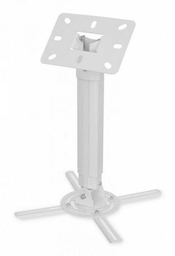 Кронштейн потолочный Buro PR05-W Buro 1174951 для проектора белый макс.13.6кг поворот и наклон