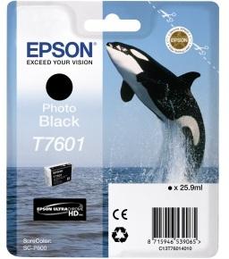 Картридж Epson C13T76014010 для принтера T760 SC-P600 Photo, черный