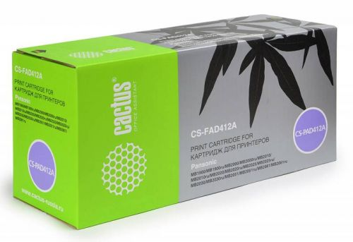 Картридж Cactus CS-FAD412A для Panasonic картридж cactus cs ph6250c