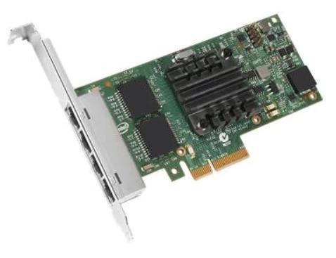 Сетевая карта Dell 540-BBDV Intel Ethernet I350 Quad Port 1Gb Network Card (Low Profile)- Kit сетевая карта intel x710t4