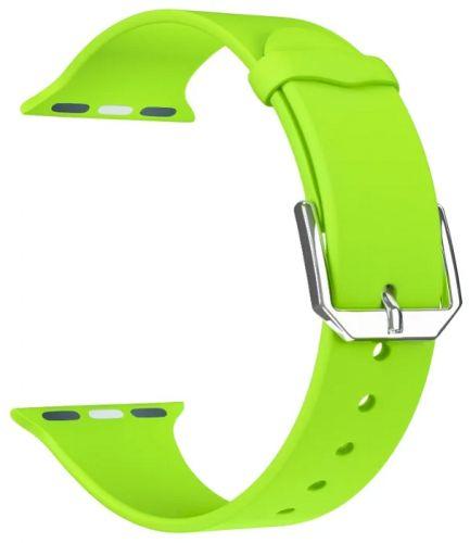 Ремешок на руку Lyambda ALCOR DS-APS08C-40-GN силиконовый для Apple Watch 38/40 mm green ремешок для смарт часов lyambda alcor для apple watch 38 40 mm розовый