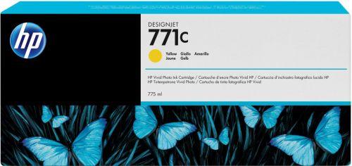 Картридж HP B6Y10A 775ml Yellow Ink Cartridge