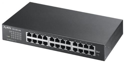 Коммутатор ZYXEL GS1100-24E 24xGE, rack 19, бесшумный