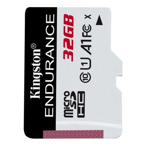 Карта памяти 32GB Kingston SDCE/32GB microSDHC Class10 Endurance w/o adapter