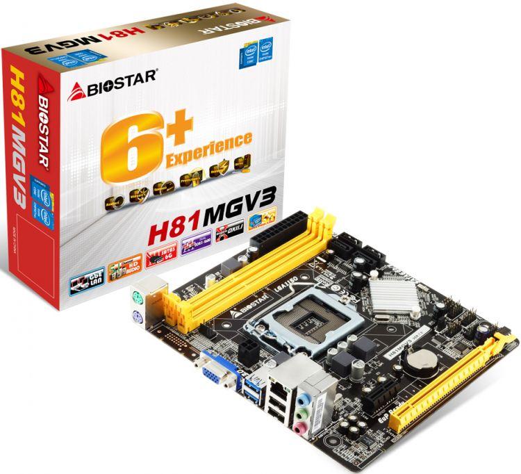 Biostar H81MGV3