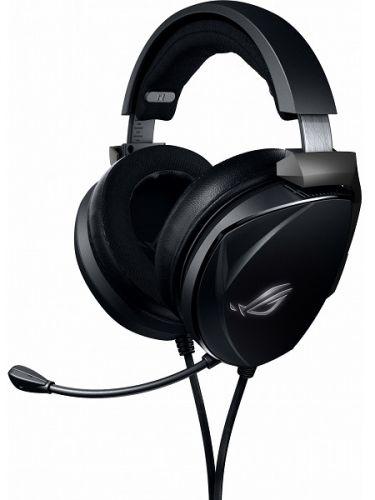Наушники ASUS ROG Theta Electret 90YH02GE-B1UA00 черные, 3.5 мм jack, Hi-Fi, неодимовые магниты, 32 Ом, 20 ~ 20000 Гц, микрофон, дополнительные амбушю