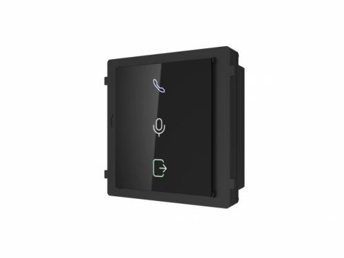 Модуль HIKVISION DS-KD-IN индикаторов состояния панели, индикаторы разговора, вызова, открытия замка, модульный разъем 1+1, DC12В, 2Вт, IP65, пластик