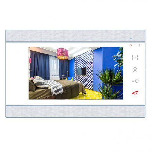 Видеодомофон J2000 J2000-DF-ВАРВАРА AHD 2Мп белый цветной hands-free 7