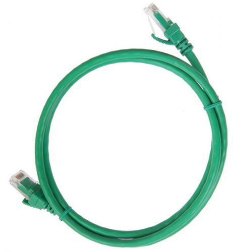 Кабель патч-корд UTP 5e кат. 3м. ITK PC02-C5EU-3M неэкр., RJ45/RJ45, PVC, зелёный